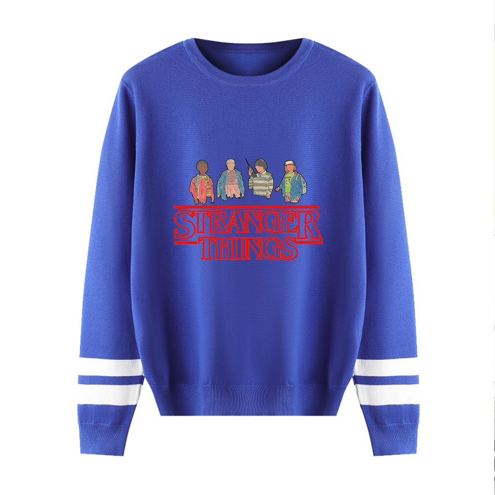 Men/Women Knitted Sweater Stranger Things Sweater 2019 Autumn Winter Sweater Men's Casual Tops Stranger Things Sweaters XXS-4XL