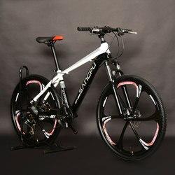 Rower górski ze stopu aluminium 26 Cal przesunięcie jedno koło 6 nóż podwójne hamulce tarczowe dla mężczyzn i kobiet studentów rowerów
