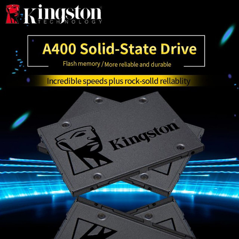 Kingston Digital A400 <font><b>SSD</b></font> <font><b>120GB</b></font> 240GB 480GB SATA 3 2.5 inch Internal Solid State Drive HDD Hard Disk HD <font><b>SSD</b></font> 240 gb Notebook PC image