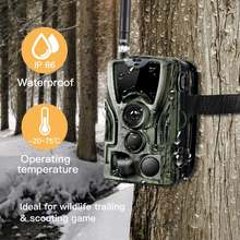 2g охотничья камера hc 801m16mp full hd наружная ночного видения
