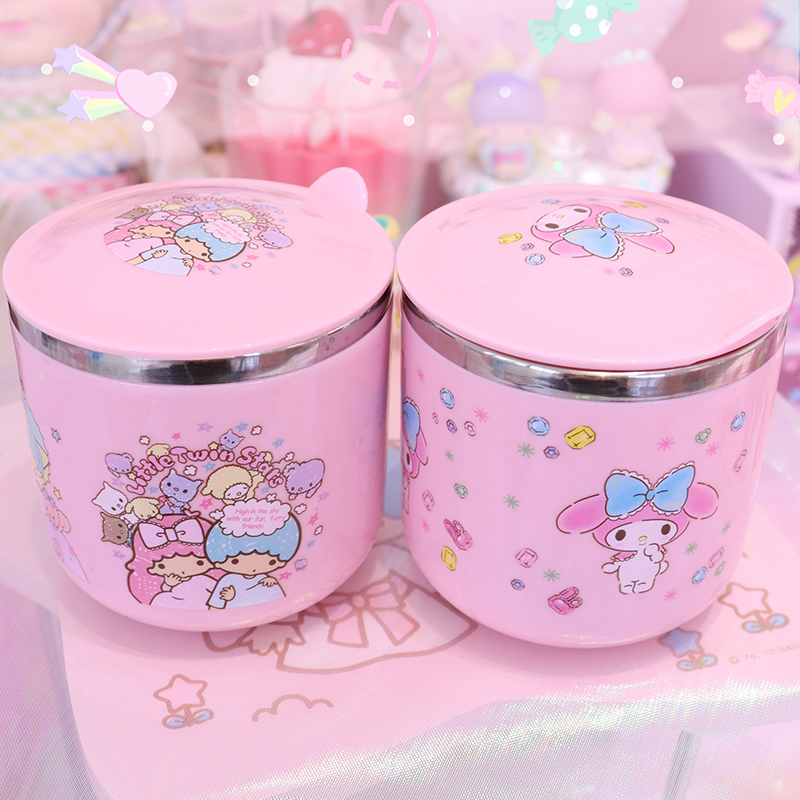 Cartoon My Melody Stainless Steel Coffee Milk Tea Mug Cup Best Birthday Gift For Lady Girl