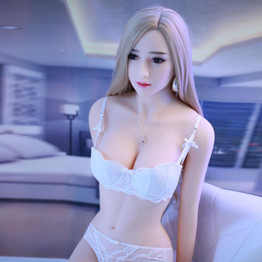 Sex Dolls 165cm Full TPE With Metal Skeleton Adult Sex Toy Love Doll Vagina Lifelike Pussy Realistic Sexy Doll For Men Sex Toy