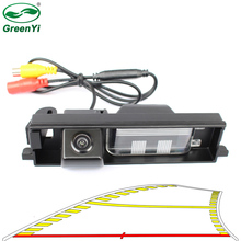 אינטליגנטי דינמי מסלול מסלולים אחורית מצלמה גיבוי הפוך חניה מצלמה עבור טויוטה RAV4 RAV 4 2000 2012