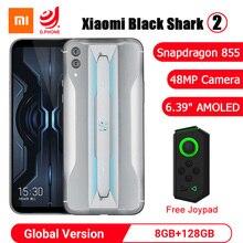 """샤오미 Black Shark 2 8GB 128GB 게임용 금어초 855 옥타 코어 6.39 """"AMOLED 스크린 48MP 카메라 Blackshark 2 휴대 전화"""