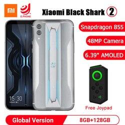 Xiaomi Black Shark 2 8GB 128GB di Gioco Del Telefono Snapdragon 855 Octa Core 6.39 Schermo AMOLED 48MP Macchina Fotografica blackshark 2 Del Telefono Mobile