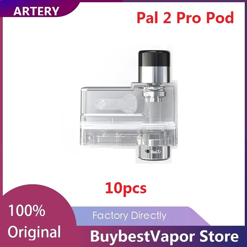Original Artery Pal 2 Pro Pod & PAL II Pro Empty Cartridge 2ml/3ml Capacity For Artery Pal 2 Pro Pod System Kit Vaporizer