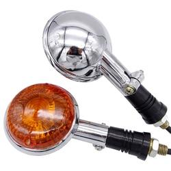Motorcycle Front Lens Turn Amber Signal Flashers Light For Yamaha Virago XV250 250 2006 V-MAX1200 V-star XVS400 XVS650 XVS1100