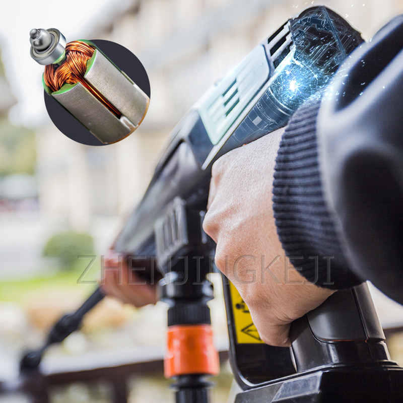High Pressure Washer Wireless High-pressure Washing Machine Portable Car Washing Equipment Handheld Water Gun Cleaning Tools
