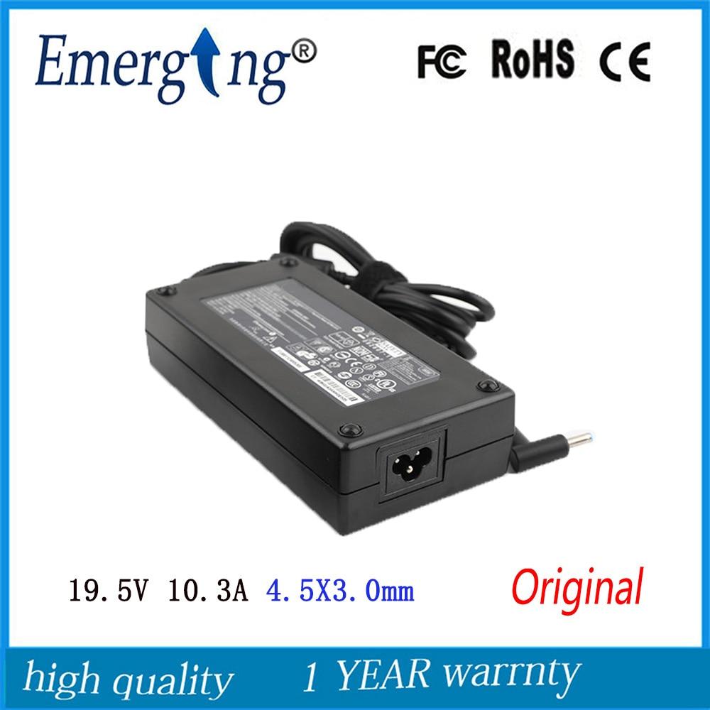 19,5 в 10.3A 200 Вт 4,5X3,0 мм оригинальный Сетевой адаптер питания для ноутбука для hp игровой ноутбук