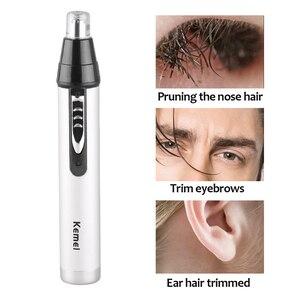3 в 1 Электрический триммер для носа и ушей для мужчин, бритва, перезаряжаемая, для удаления волос, для бровей, тример, безопасный продукт, бри...