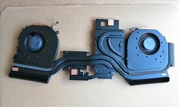 Original new for HP 5plus TPN-C144 OMEN 17-CBCPU heat sink FAN cpu+GPU