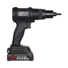 Brushless Electric Ramm Gun 20V Rechargeable Automatic Rivet Nut Gun Rivet Tool M3-M12 2/4Ah Lithium Battery