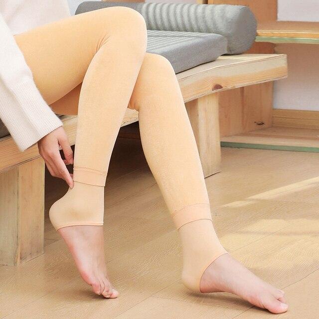 Winter Leggings Women Warm Thick Plus Velvet High Waist Women Leggings Compression Super Stretch Pencil Pant 6