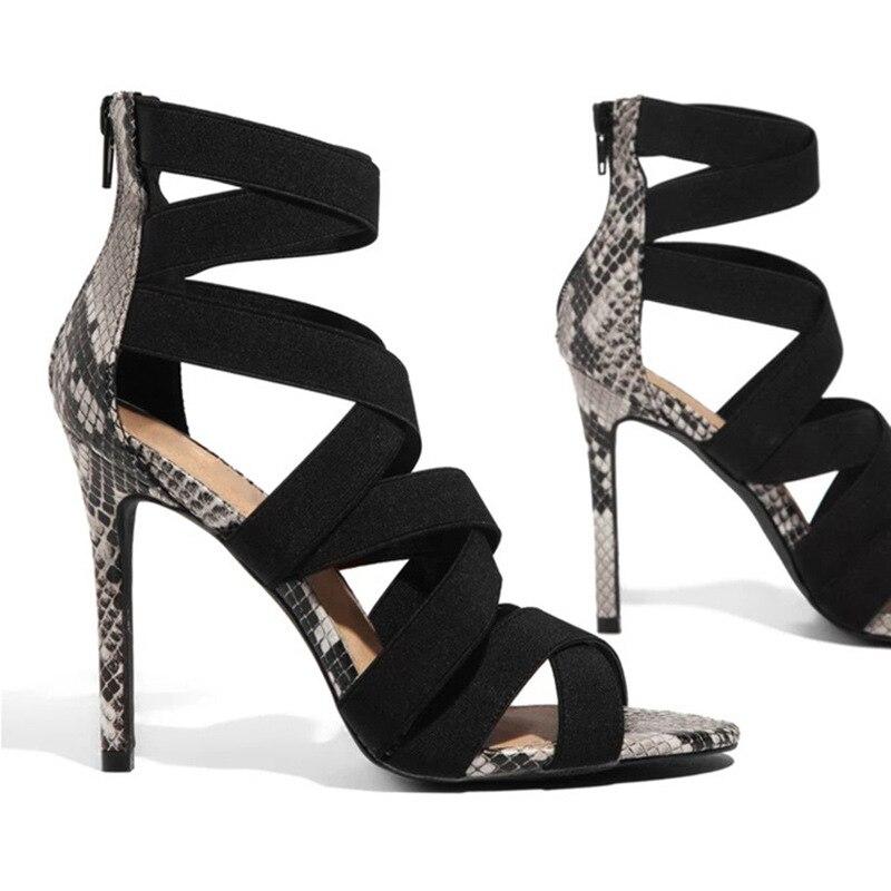 Chaussures d'été femme - Serpent