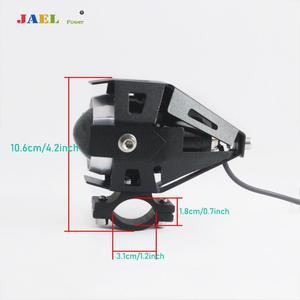 Image 4 - Lámpara brillante, focos led para motocicleta, U5 DRL, focos de conducción para motocicleta, barra de luces led, lámpara de 12V 125W, luz LED brillante