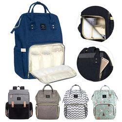 LAND Diaper Bag Baby Bags Mummy Maternity Backpack Nappy Bag Large Capacity Waterproof Travel Backpack Designer Nursing Bag