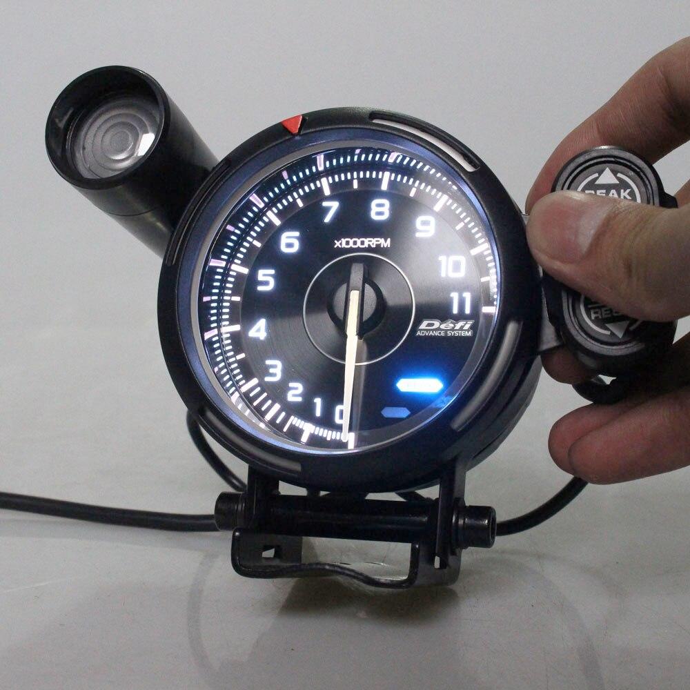 DEFI Advance Single Meter Visor 52mm Suits 52mm Gauge Face DF11101