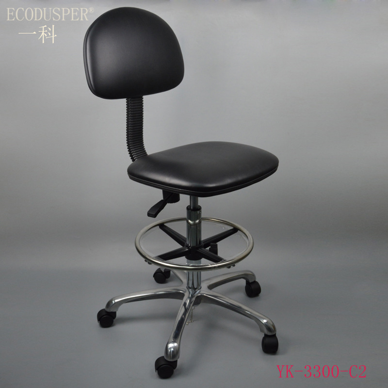 Manufacturers Direct Selling Anti-static Chair Anti-static PU Leather Chair Top Cover Backrest Chair Anti-static Stool Can Be Cu