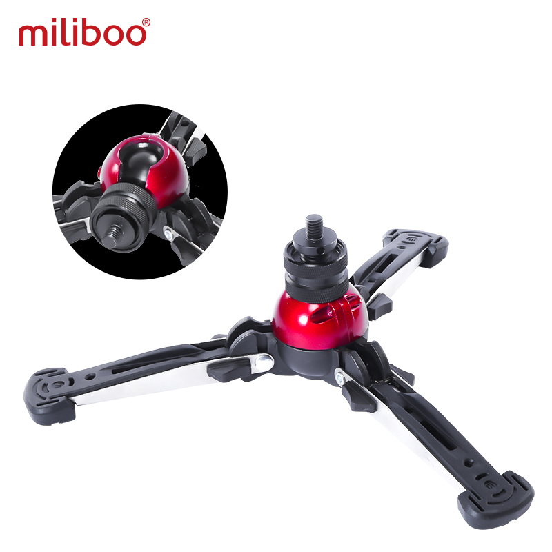 Image 4 - miliboo MTT705Ⅱ Camera Video Monopod with Fluid Drag Head Professional Camera Stand for DSLR, Camcorder 10kg load fast shipping-in Tripods from Consumer Electronics