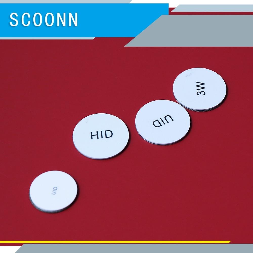 125 кГц подлинный H-ID ProxCard II 1326 LMSMV раскладушка близость наклейка для контроля доступа стандарт 26 бит H10301 формат 10 шт