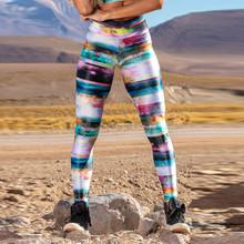 Damskie legginsy z wysokim stanem damskie spodnie do ćwiczeń Star River Mesh skórzane legginsy damskie spodnie seksowne spodnie damskie legginsy tanie tanio CLASS OF 2030 X1078978964561 Kostek Wysoka Na co dzień Poliester GALAXY STANDARD Suknem