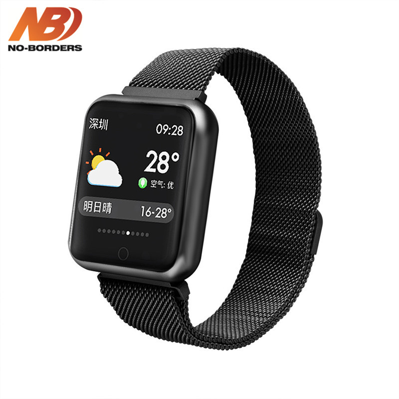 Original P68 Smart Watch Sports IP68 Fitness Bracelet Activity Tracker Heart Rate Monitor Blood Pressure for Android iPhone image