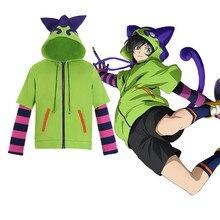 SK8 the Infinity Miya Chinen Hoodie Cosplay Costumes Hooded Zipper Sweatshirt Anime SK Eight Streetwear Pullover Coat
