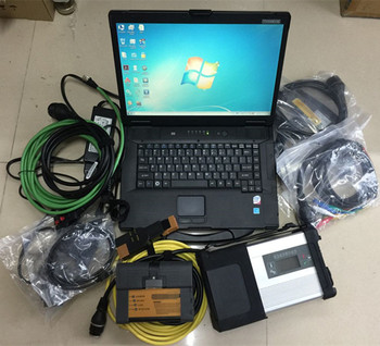 Super MB Star C5 For BMW ICOM A2 Diagnostic Tool with CF-52 Toughbook P-anasonic laptop with 1TB HDD mb sd c5 icom a2 software