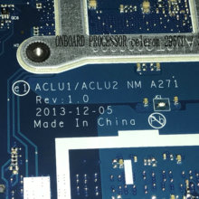FAST SHIPPING. BRAND NEW. ACLU1/ ACLU2 NM A271 mainboard For LENOVO G50-70
