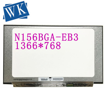 Free shipping N156BGA-EB3 N156BGA EB3 15.6''inch Laptop Lcd Screen 1366*768 EDP 30 Pins