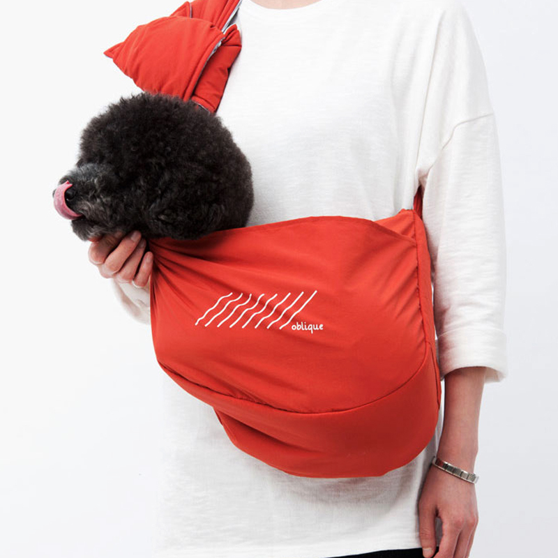 Simple Pet Carrying Accessories for Animals Cat Transportation Small Bags Cats Inclined Shoulder Puppy Traveling Carrier Bag Dog