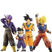 Tronzo Original Banpresto Dragon Ball Figures Broly Goku Vegeta Gogeta Zamasu PVC Action Figure Toys Super Saiyan Figurines Toys