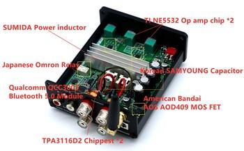 Fosi Audio BT20A Bluetooth Sound Power Amplifier   5