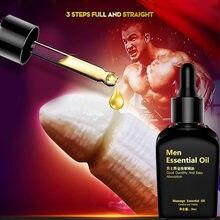 Huile d'agrandissement du pénis érection durable sexe retard crème pour hommes éjaculation prématurée lubrifiant augmenter Big Dick croissance Gel 18 +