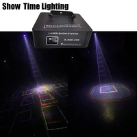 Show time 3D 5 In 1 Dj Laser Image Lines Beam Scans DJ Dance Bar Coffee Xmas Home Party Disco Effect Lighting Light System Show