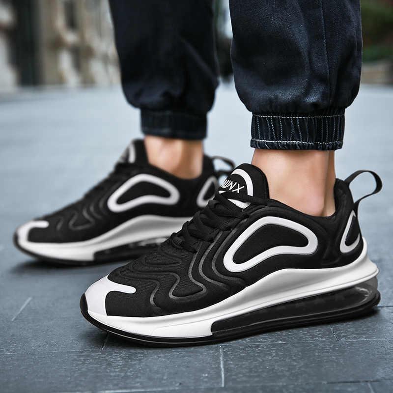 Moda marka erkekler 720 yürüyüş ayakkabısı yastığı Sneakers 270 açık spor üçlü nefes tasarımcı JOGGERS Max boy erkek eur 45