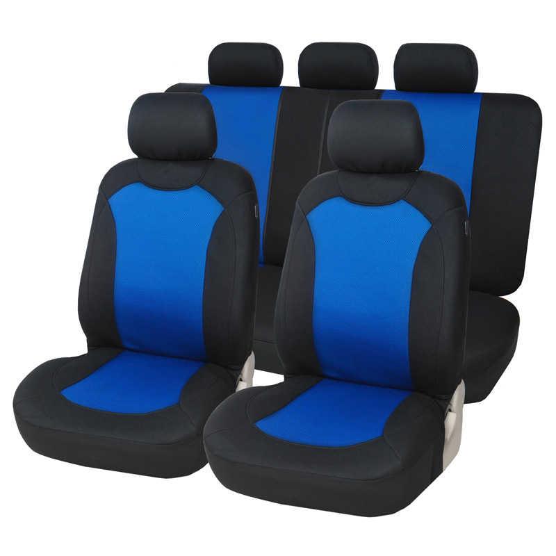 Couverture complète housse de siège de voiture en fibres de lin housses de sièges auto pour opel corsa b c d e opel vectra a b c peugeot 301