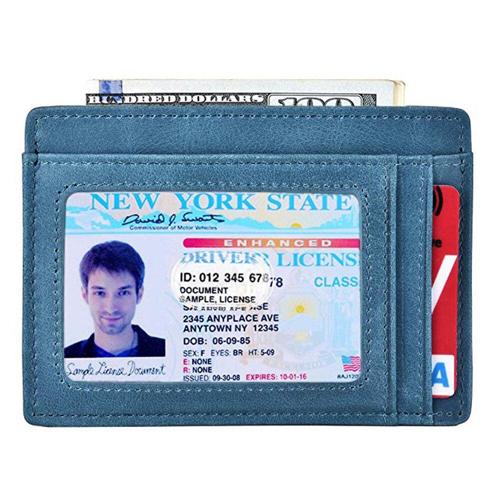 Customizable Polyurethane Card Holder Customizable Credit Card Holder Multi-color Multi-Card US Dollar Wallet Storgage Bag Hide