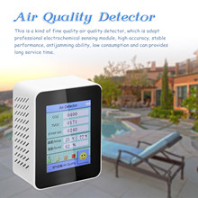 Air Kwaliteit Monitor 400-5000 Ppm Co2 Gas Analyzer Ppm Sensor Luchtkwaliteit Monitor CO2 Detector Gas Concentratie Tft intelligente