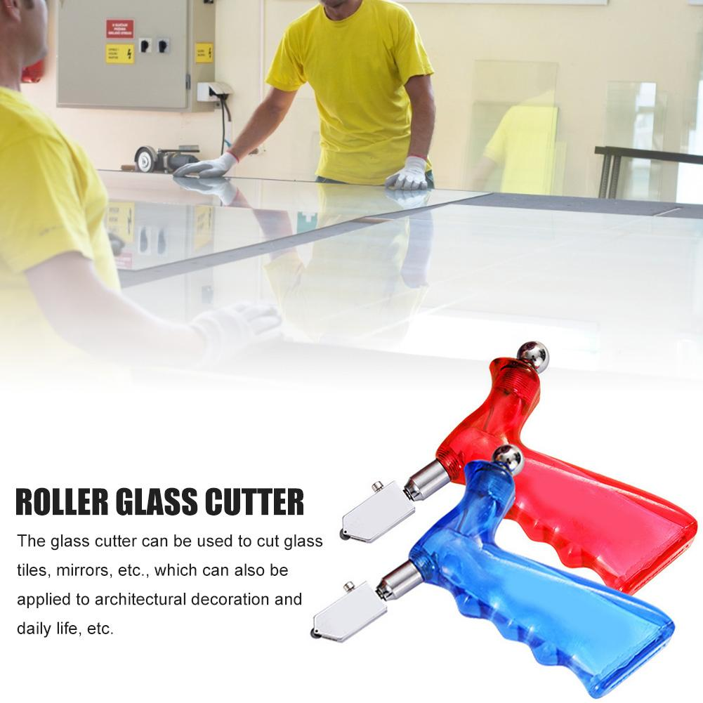 Roller Hand-held Glass Cutter Wear Resistant High-hardness Objects Cutting Tool For Glass Tiles Mirrors Cutting #25