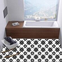 Nordic Style Kitchen Mosaic Waist Line Pvc Geometric Tile Sticker Removable Wall Reusable Bathroom Waterproof Self Adhesive