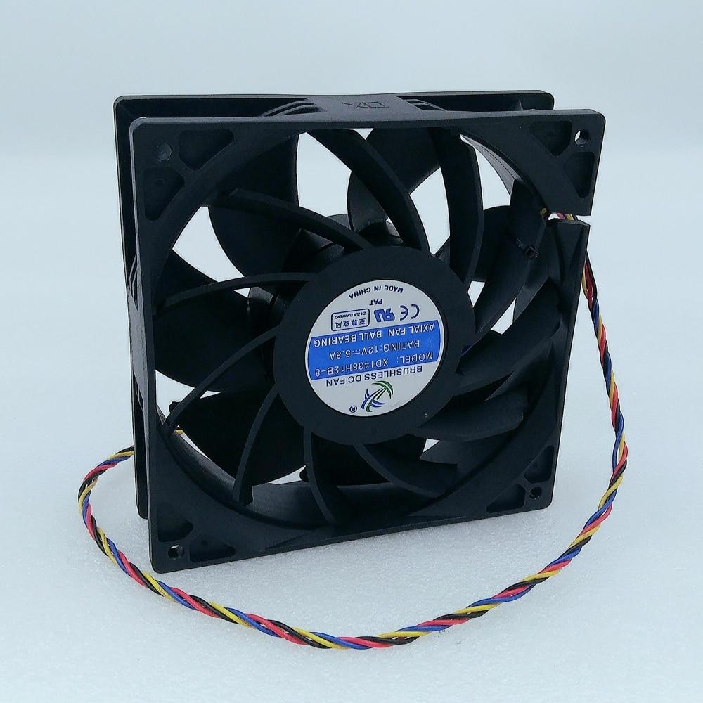 BTC BCH Bitcoin Miner 14cm Fan Asic Miner Cooling Fan for Ebit E10 4