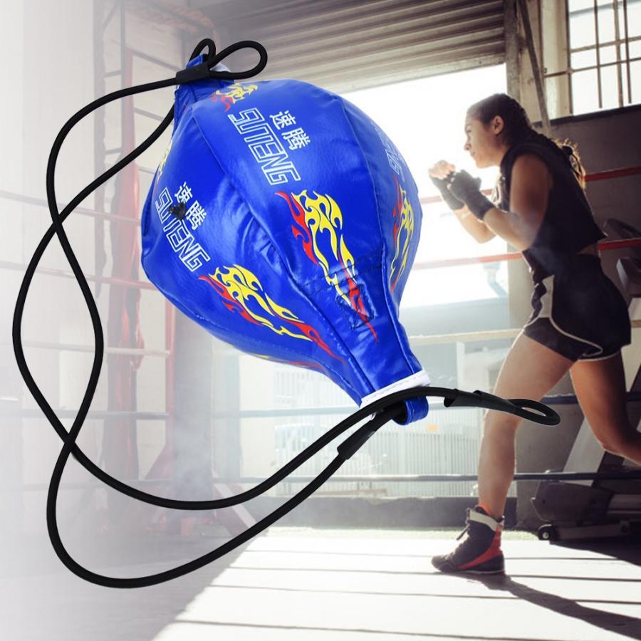 Мяч на резинке для боксирования надувной боксерский Пробивной мяч Kickboxing эластичный мяч для фитнеса спортивные упражнения аксессуары
