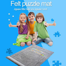 Puzzles Mat Jigsaw Roll Felt Mat Play mat Puzzles Blanket for Up to 2000 Pieces Puzzle Accessories Portable Travel Storage bag(China)