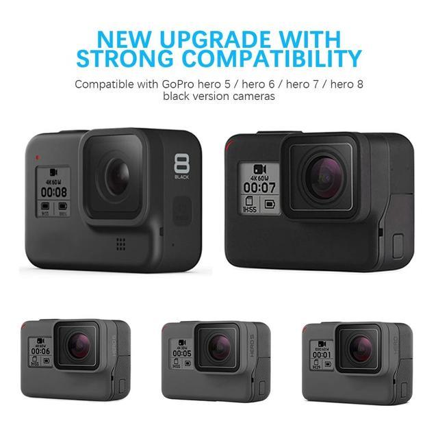 Anjielosmart Fast Charging Black Battery or Triple Charger for GoPro Hero 8 Hero 7 Hero 6 Hero 5 Black Camera Battery 6