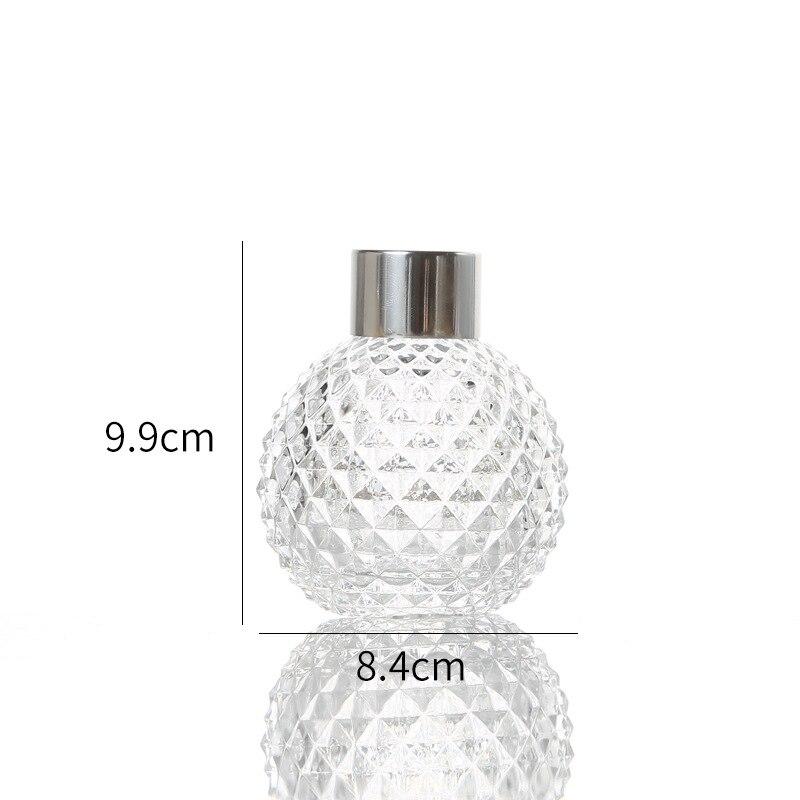 5 шт./компл. 50 мл 150 мл стеклянная бутылка для ароматерапии из ротанга для производства никакого пожара диффузор бутылки аромат для возгонки Стекло контейнер для домашнего декора - Цвет: 5pcs 150ml