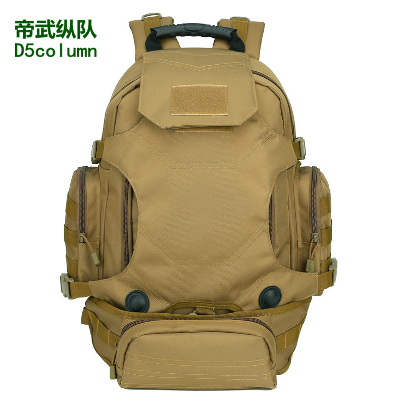 40 Litres Outdoor Triple Use Combination Backpack Multi-functional Tactical Backpack Army Fans Camouflage Mountaineering Bag Rid
