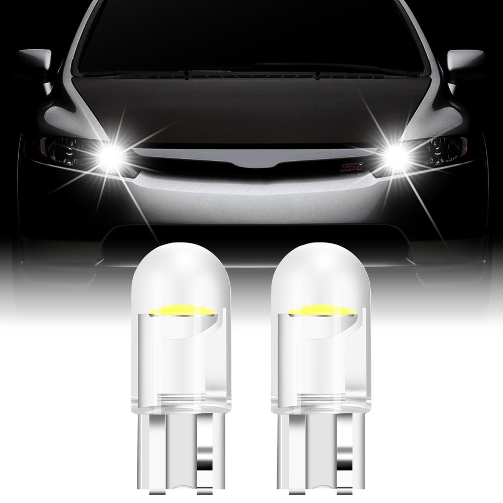 2x T10 W5W WY5W 168 501 2825 Super Bright LED Car Lâmpadas para mazda 2 3 5 6 cx5 cx7 mx5 para suzuki swift sx4 jimny para saab 93 95