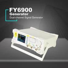 Pulso arbitrário da forma de onda do duplo-ch FY6900-60M-0.01 mhz do gerador de sinal de 100 dds