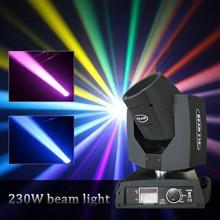230W 7R высокой мощности перемещающаяся головка светильник Лира высокого качества сенсорный экран луч светильник для выступления вечерние ди...